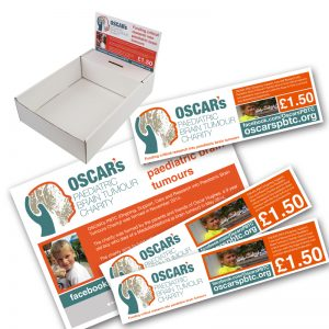 charity display boxes