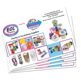 charity box brochures
