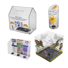 counter collection boxes